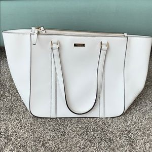 White Kate Spade Large Satchel